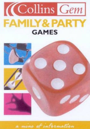 Collins Gem: Family & Party Games by Various