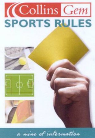 Collins Gem: Sports Rules by Various