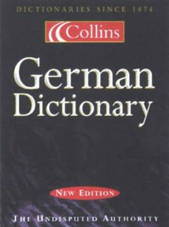 Collins German Dictionary - 5 Ed by Unknown