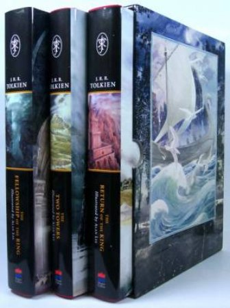 The Lord Of The Rings - Illustrated Hardcover Box Set by J R R Tolkien