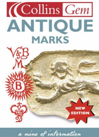 Collins Gem: Antique Marks by Anna Selby