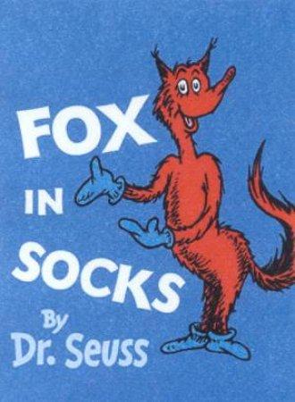 Dr Seuss: Fox In Socks - Mini Edition by Dr SeussDr.