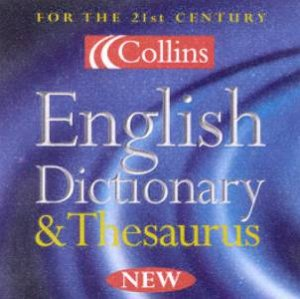 Collins English Dictionary & Thesaurus - CD-ROM by Various
