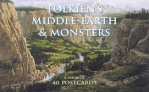 Tolkien's Middle-Earth & Monsters: A Book Of 40 Postcards by Various