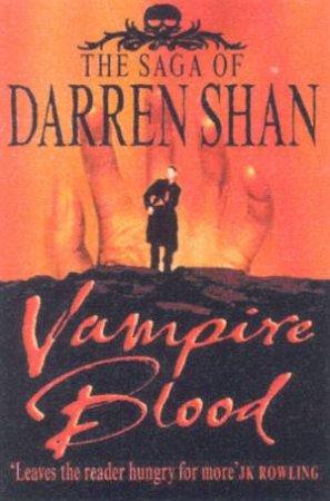 Saga Of Darren Shan Omnibus: Vampire Blood by Darren Shan