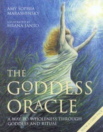 The Goddess Oracle - Book & Cards by Amy Sophia Marashinsky