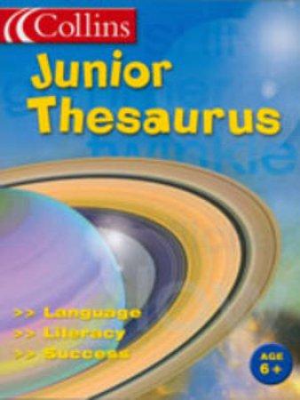 Collins: Junior Thesaurus by Unknown