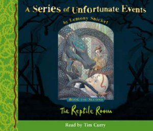 The Reptile Room - CD by Lemony Snicket