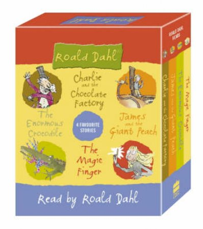 Roald Dahl: 4 Favourite Stories - Cassette by Roald Dahl