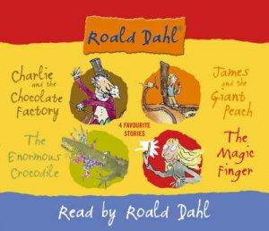 Roald Dahl: 4 Favourite Stories - CD by Roald Dahl