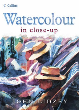 Watercolour In Close Up by John Lidzey