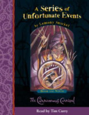A Series Of Unfortunate Events: The Carnivorous Carnival - CD by Lemony Snicket