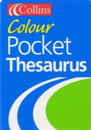 Collins Colur Pocket Thesaurus by Unknown