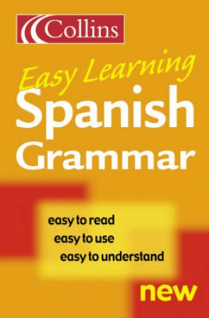 Collins Easy Learning: Spanish Grammar by Unknown