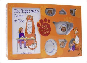The Tiger Who Came To Tea - Book & Tea Set by Judith Kerr