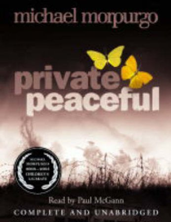 Private Peaceful - Cassette by Michael Morpurgo