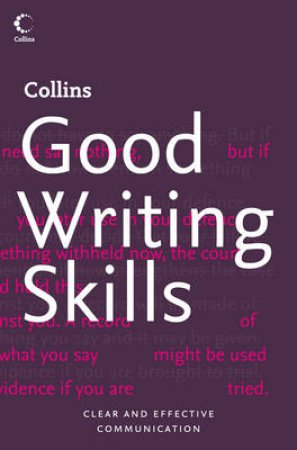 Collins Good Writing Skills by Graham King