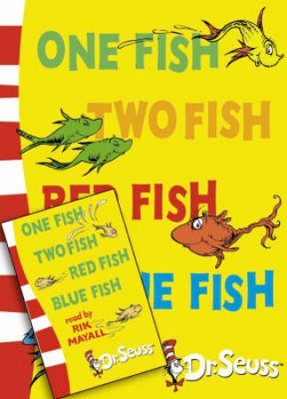 Dr Seuss: One Fish Two Fish Red Fish Blue Fish - Book & Tape by Dr Seuss