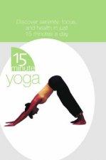 15 Minute Yoga In A Box  Book  Cards