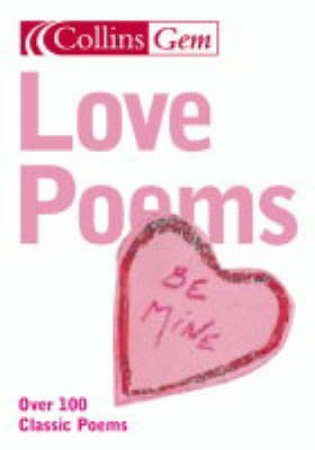 Collins Gem: Love Poems by Various