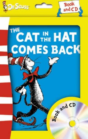 Dr Seuss: The Cat In The Hat Comes Back - Book & CD by Dr Seuss
