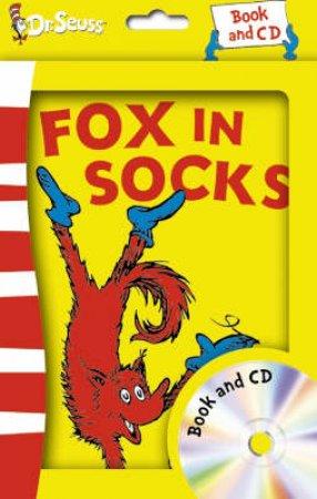 Dr Seuss: Fox In Socks - Book & CD by Dr Seuss