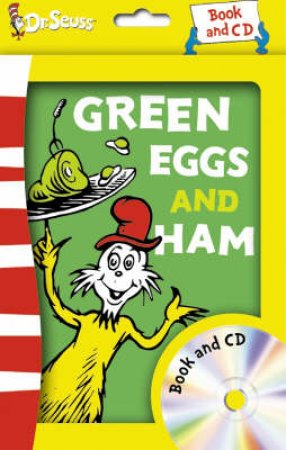 Dr Seuss: Green Eggs And Ham - Book & CD by Dr Seuss