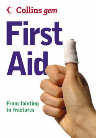 Collins Gem: First Aid by Unknown