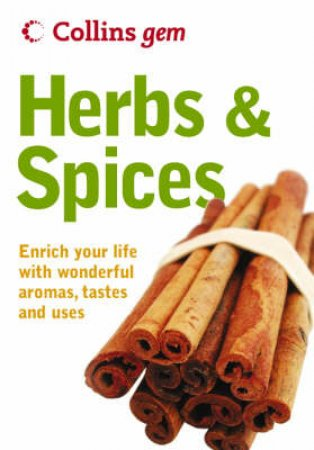 Collins Gem: Herbs & Spices by Unknown
