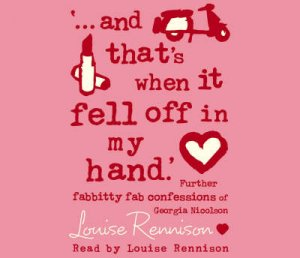 And That's When It Fell Off In My Hand - CD by Louise Rennison