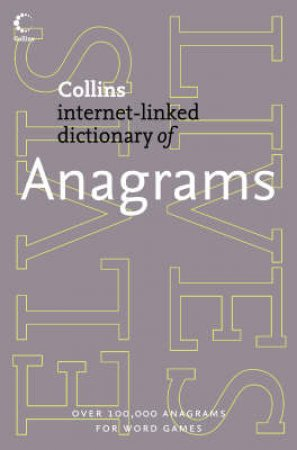 Collins Internet-Linked Dictionary Of Anagrams by Various