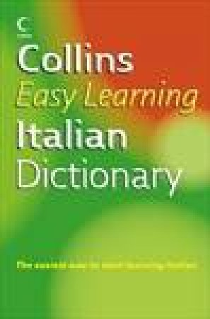 Collins Easy Learning Italian Dictionary by Unknown