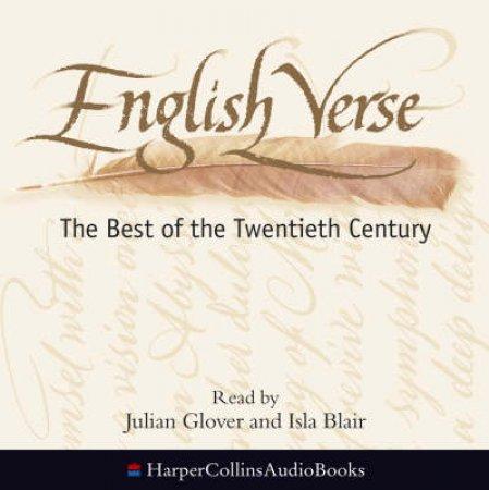 English Verse - CD by Edward Leeson