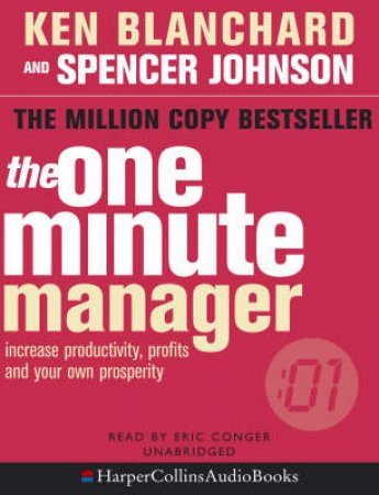 The One Minute Manager - Tape by Ken Blanchard & Spencer Johnson