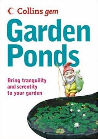 Collins Gem: Garden Ponds by Collins