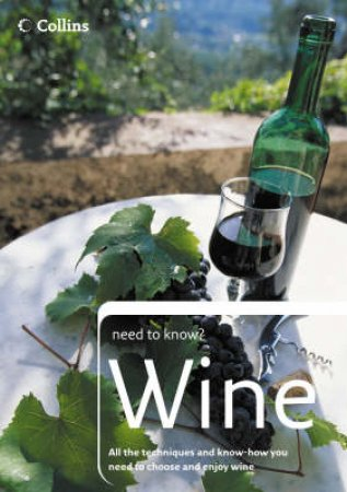 Colins Need To Know? Wine by Julie Arkill