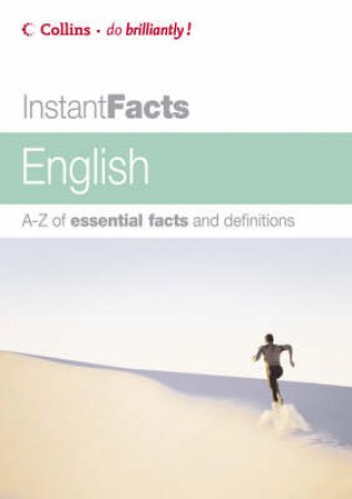 Collins Instant Facts: English by Unknown