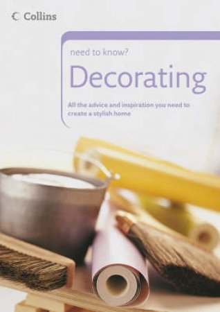 Collins Need To Know? Decorating by Various