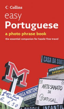 Collins Easy Portuguese: A Photo Phrase Book + CD by Various