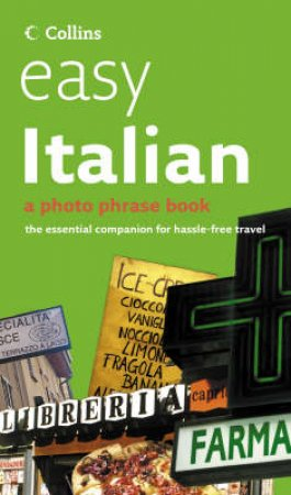 Collins Easy Italian: A Photo Phrase Book + CD by Various