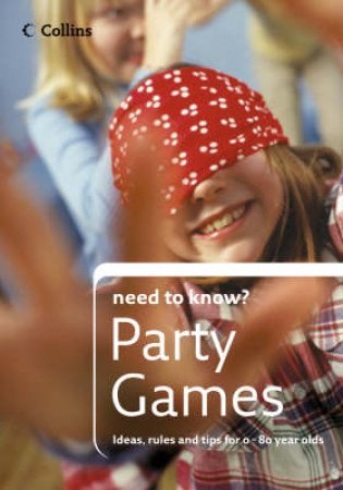 Collin's Need To Know Party Games by Collins