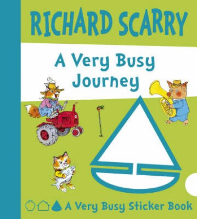 A Very Busy Journey by Richard Scarry
