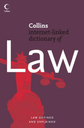 Collins Dictionary of Law by Unknown