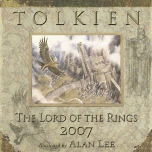 Tolkien Calendar 2007 Lord Of The Rings by Unknown