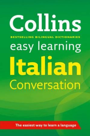 Collins Easy Learning Italian Conversation, 1st Ed by Various