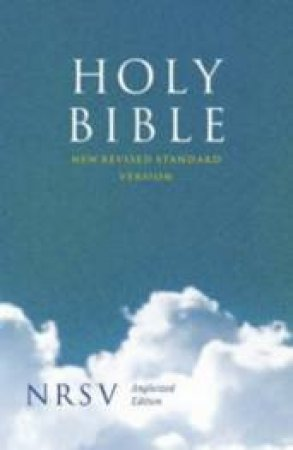 NRSV Anglicised Compact Bible by .