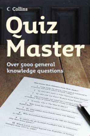 Quiz Master by Nick Holt