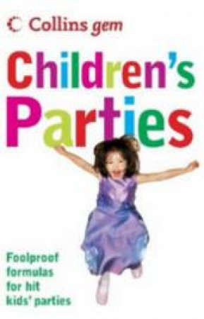 Collins Gem Children's Parties by Sean Callery