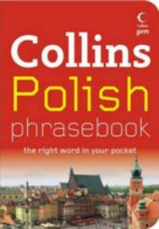 Collins Gem: Polish Phrasebook And CD Pack by Unknown