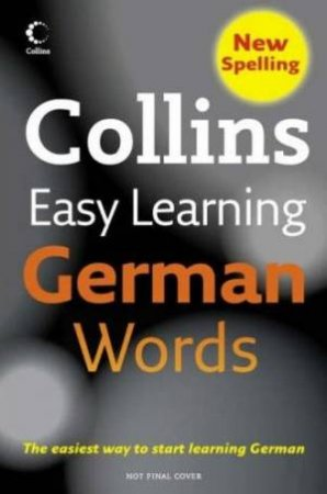Collins Easy Learning German Words by Unknown